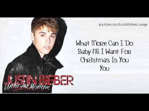 Download lagu gratis Justin Bieber Mariah Carey Duet - All I Want For Christmas Is You [LYRICS ON SCREEN] terbaru