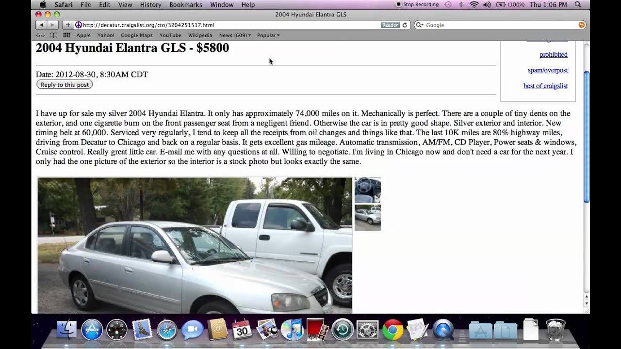 Craigslist Decatur Illinois Used Cars For Sale By Owner
