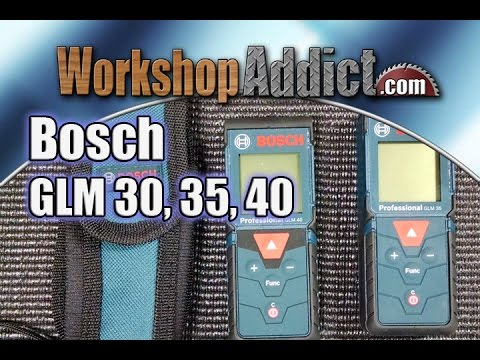 bosch laser distance measures glm 30 35 and 40 youtube. Black Bedroom Furniture Sets. Home Design Ideas