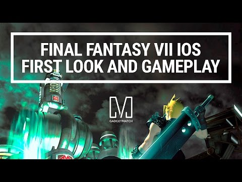 Final Fantasy VII iOS First Look and Gameplay