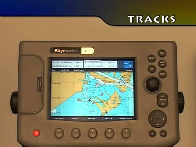 Raymarine A & C Series Chartplotter - YouTube