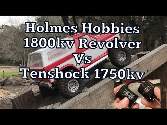TenShock 6-pole vs Holmes Hobby 14-pole