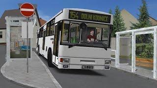 OMSI 2. Map Dolni Kounice, Route 154, Jelcz 120M. Part 1