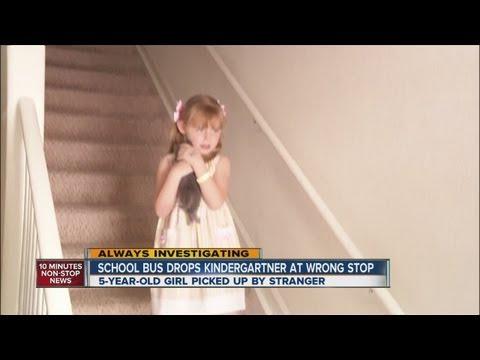 School bus drops kindergartner at wrong stop