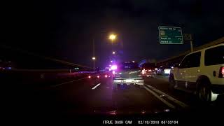 Accident on I35 Monday, February 19th 2018