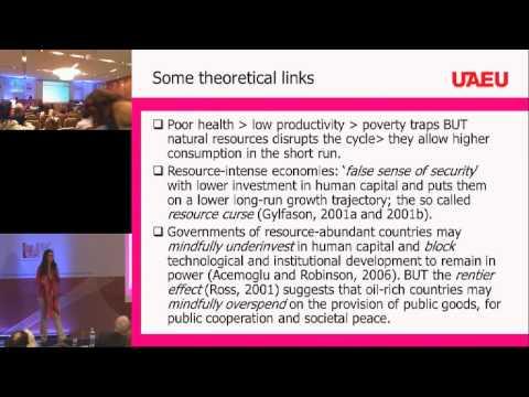 Marina-Selini Katsaiti: Are natural resources bad for health?