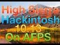 Fully Working High Sierra 10.13 Hackintosh Tutorial   8 9 100 200 Series Kaby Lake & Older UEFI