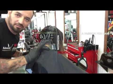 SCHWARZKOPF professional Balayage tutorial  2015