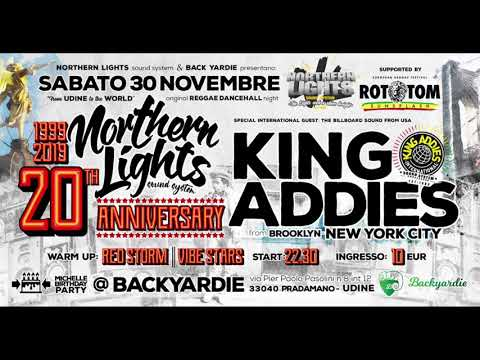 King Addies 30 Nov 2019 Udine Italy   Northern Lights 20th Anniversary