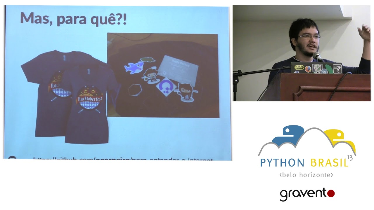 Image from Lightning Talks Manhã