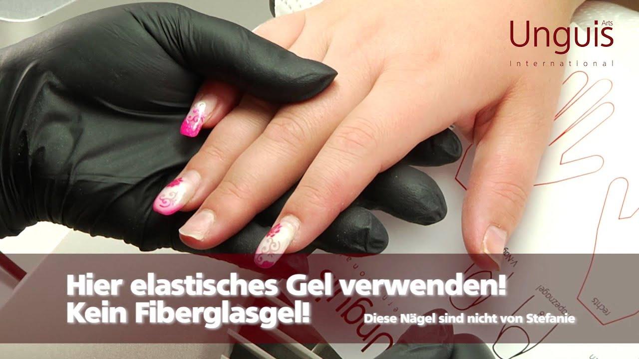 Unguis Arts - Fiberglas Gel von Stefanie Kamal - YouTube