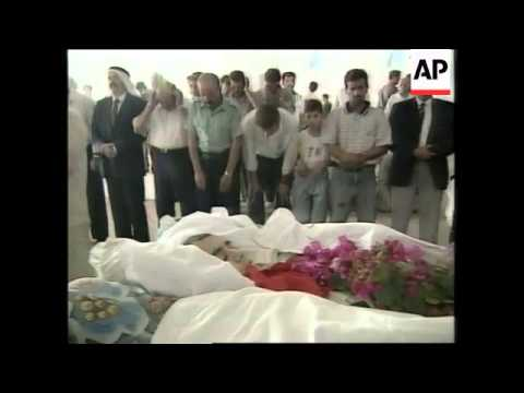 WEST BANK: FUNERAL OF PALESTINIAN BOY KILLED IN CLASHES WITH ISRAELIS