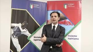 """Vito Di Gioia al Seminario """"Sport e Innovazione"""""""