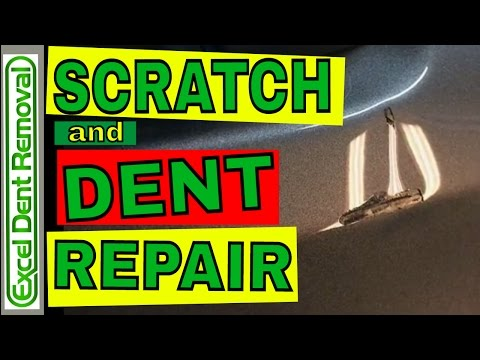 Scratch and Dent Repair - Can Paintless Dent Repair Be Done With A Scratch In The Paint