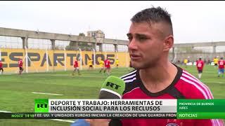 Rugby y costura: El camino a la reinserción social para exreclusos argentinos