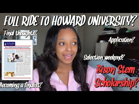 howard bison stem scholarship  what is it exactly? #hu23