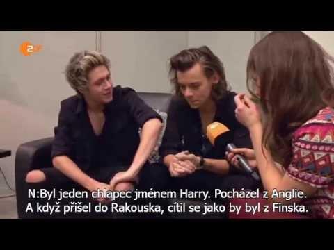 Harry and Niall interview at Wetten, dass..? #CZ