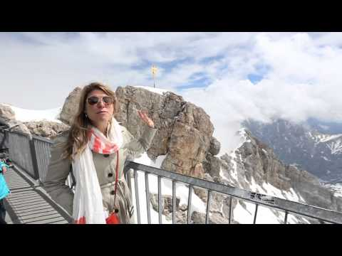 Zugspitze: the Tallest Mountain in Germany!