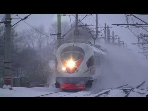 Смотреть Поезд Сапсан летит - всем бояться! онлайн