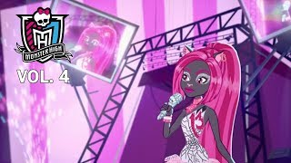 Монстер Хай: стань как все! Лучшие мультики для девочек: 4 сезон. Monster High