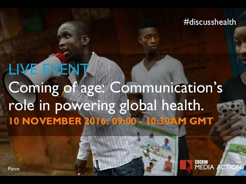 Coming of Age: Communication's Role in Powering Global Health