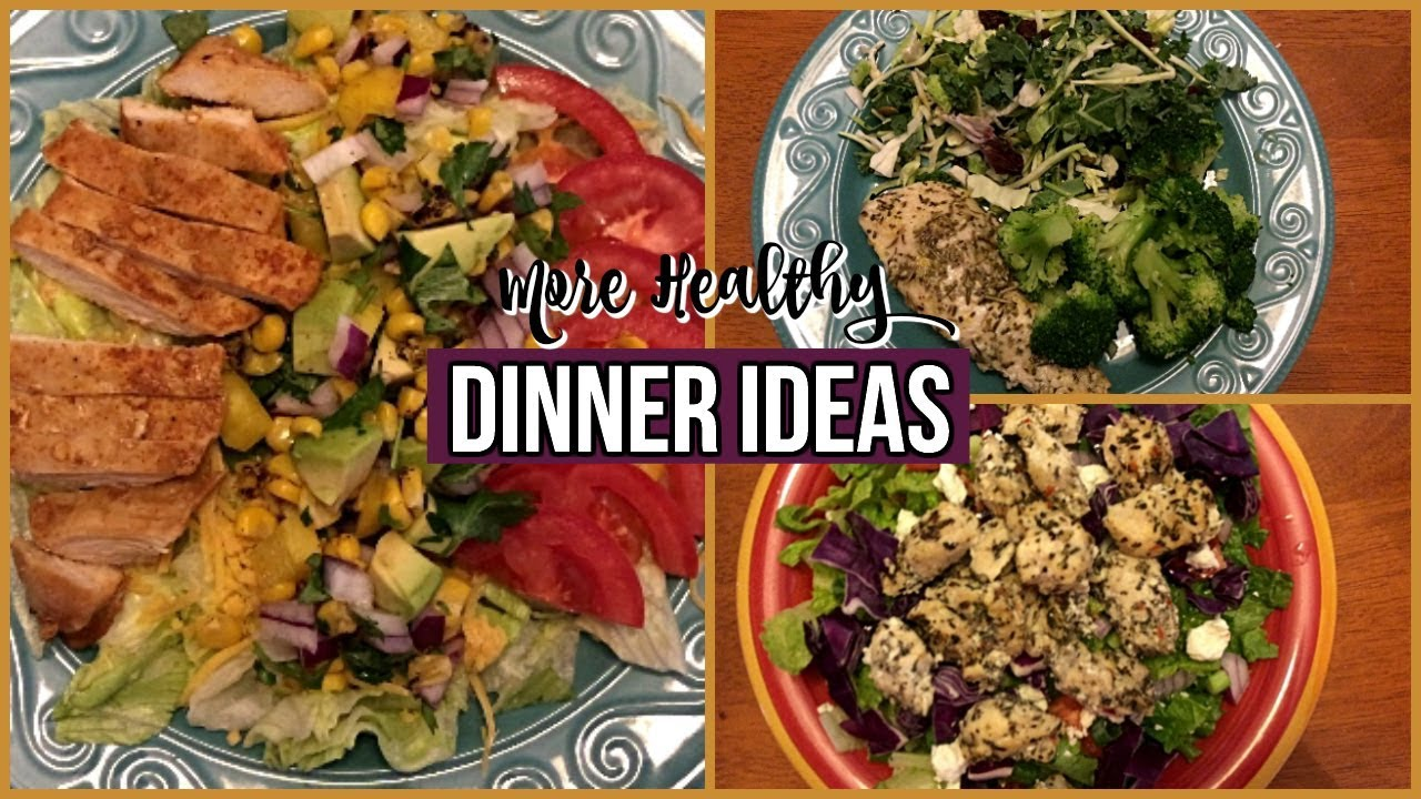 healthy dinner ideas 2 3 dinners on weight watchers youtube