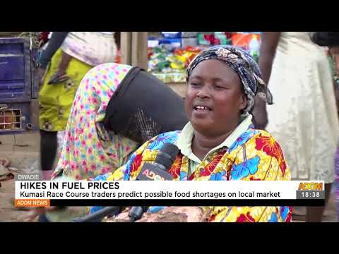 Kumasi race course traders predict possible food shortage on local market -Adom TV News (23-7-21)