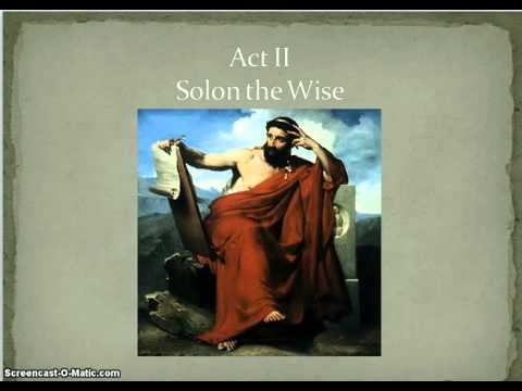 Athen's Road to Democracy Part I: Solon the wise