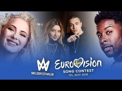 Eurovision 2019 (Melodifestivalen 2019/Sweden National Selection) - Top 28
