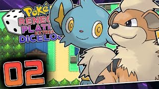HOW CAN I BE SO UNLUCKY ALREADY?! Pokemon Renegade Platinum Extreme Dicelocke Part 02 w/ HDvee