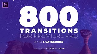 2019's Best Adobe Preṁiere Transitions | Unlimited Downloads | Join Free