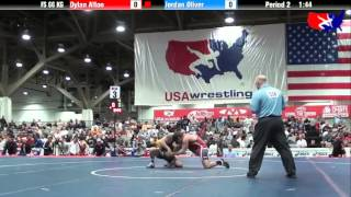 Dylan Alton vs. Jordan Oliver at 2013 Las Vegas/ASICS U.S. Open