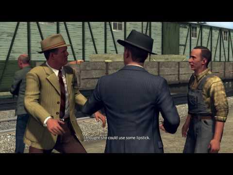 L A Noire   The studio secretary murder   walkthrough