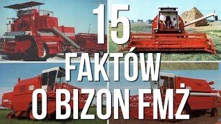 15 faktów o kombajnach Bizon FMŻ HISTORIA BIZONA #15 [Matheo780]