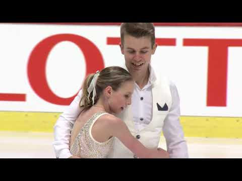Chloe CHOINARD / Mathieu OSTIGUY CAN Pairs Free Skating - Zagreb 2017