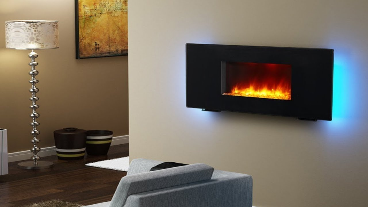 PuraFlame Wall Mounted Flat Panel Electric Fireplace Review To Know More Details Visit : https://thereviewio.com/best-wall-mount-electric-fireplace/ --------...