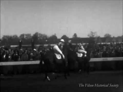 Scenes from the 1933 Kentucky Derby, Louisville, KY