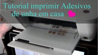 (0.08 MB) Como fazer adesivo de unha na impressora em casa Mp3