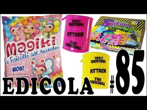 EDICOLA #85: Skifidol Attack & Magiki (Le Farfalle dell'Arcobaleno) by Giulia Guerra