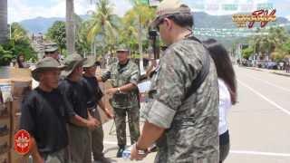 Operación de Ayuda Humanitaria en Rio Negro - Satipo Vraem 07 Noviembre 2013