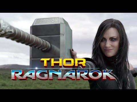 Thor Ragnork mijolnir smashing by Hela in (tamil )