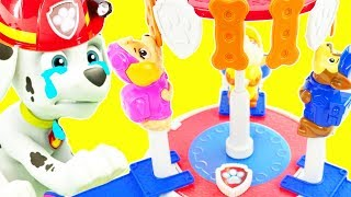 Best Video for Kids with Peppa Pig and Paw Patrol House!