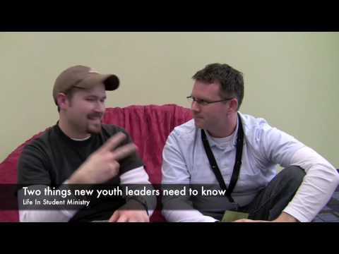Tips for new youth workers