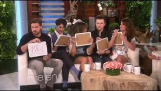 Glee Cast Playing Game [Class Superlatives]
