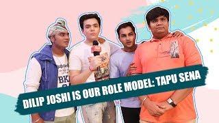 Taarak Mehta Ka Ooltah Chashmah's Tapu Sena: Dilip Joshi is our role model