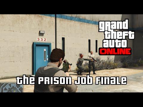 GTA Online - The Prison Job Finale