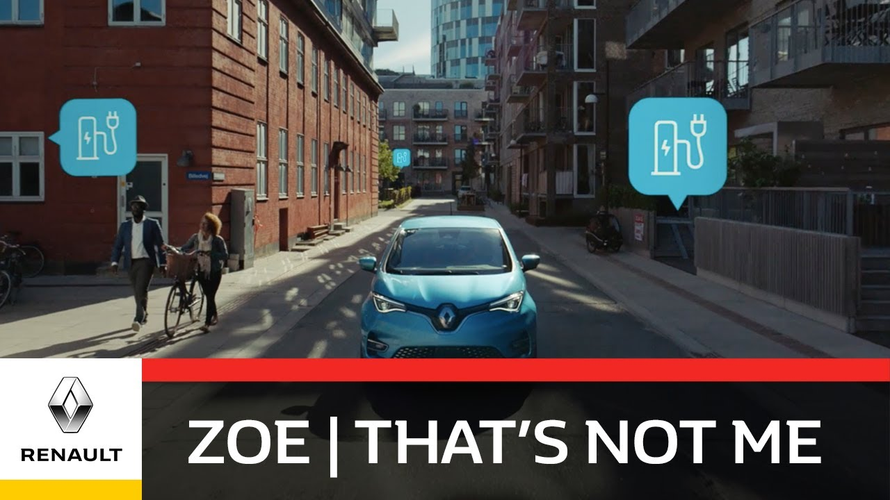 New Renault ZOE | That's Not Me | Journey Planner