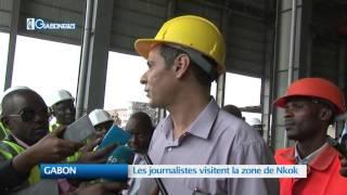 GABON : Les journalistes visitent la zone de Nkok