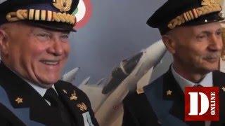 Passaggio di consegne tra il generale Preziosa ed il generale Vecciarelli