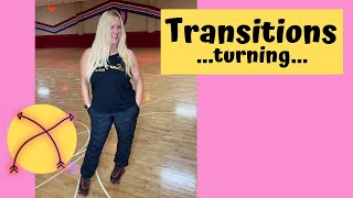 How to Turn oฑ Roller Skates - Transitions